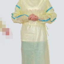 8 level 2 Isolation gown with tape